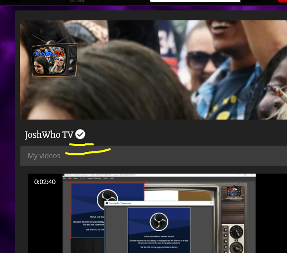 Channel Verification Badge Now Available!!!!!!!